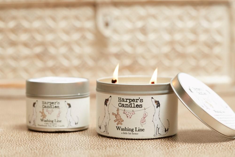 Washing Line candle (large)