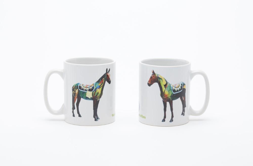 World Horse Trail mug
