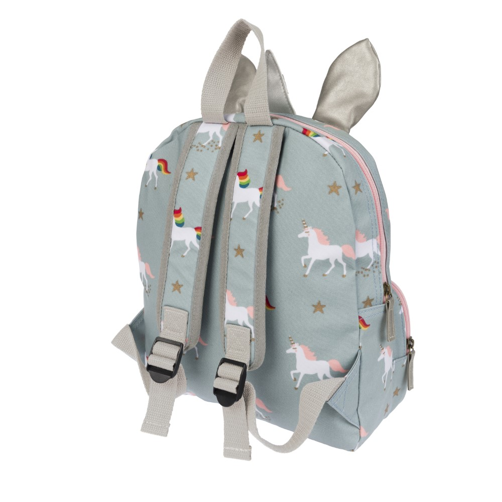 Sophie Allport Unicorn Oilcloth Backpack