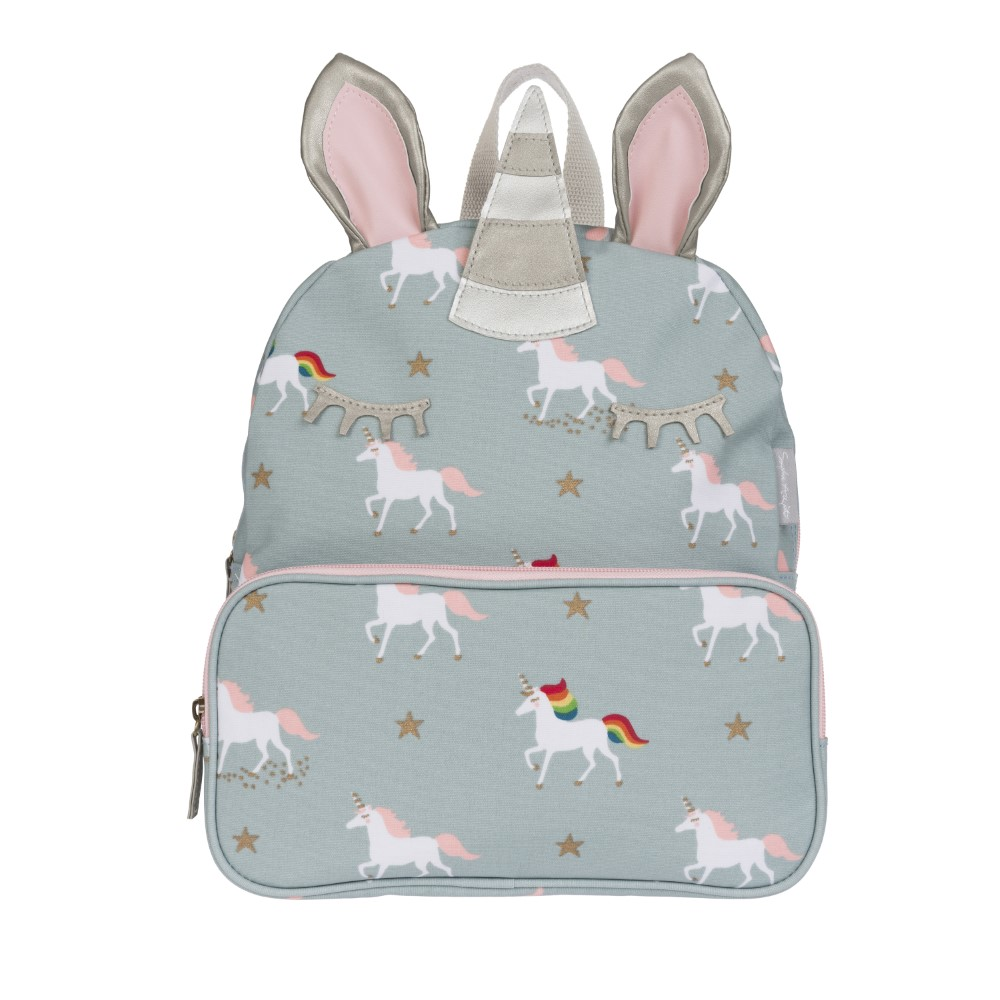 Sophie Allport Unicorn Oilcloth Backpack