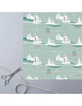 Festive Frolics Wrapping Paper