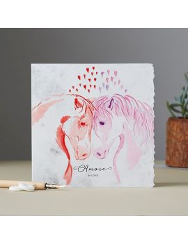 Amore in Love card