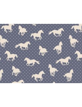 We love horses gift wrap