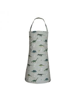 Dinosaurs Child's Oilcloth Apron