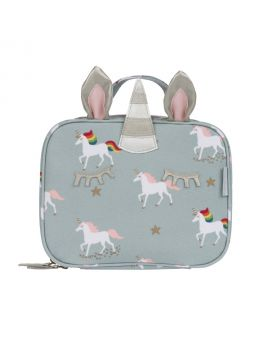 Sophie Allport Unicorn Oilcloth Lunch Bag