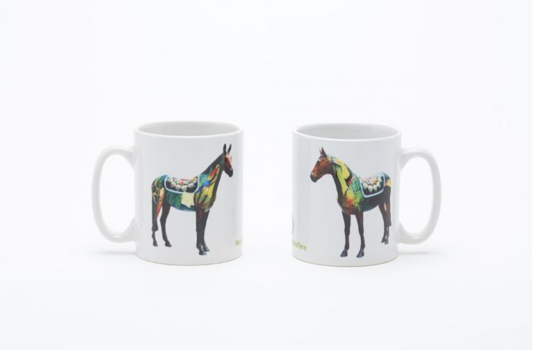 World Horse Trail mug