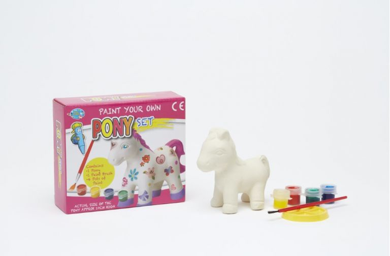 Paint your own pony set