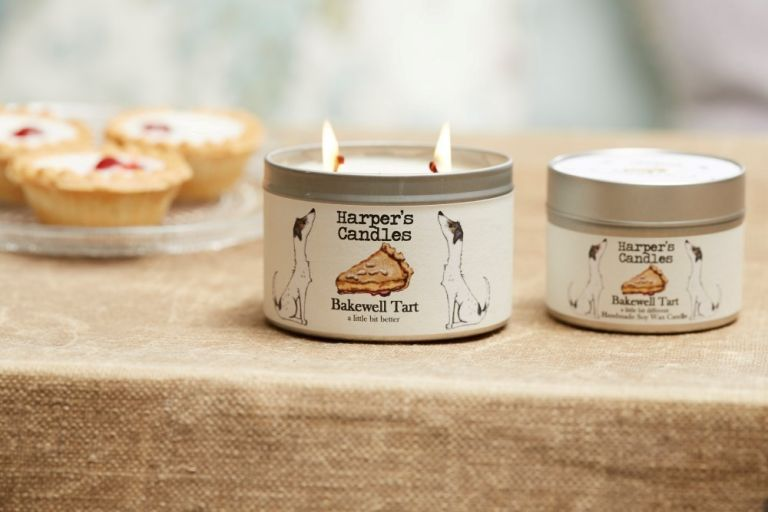 Bakewell Tart Candle (Small)