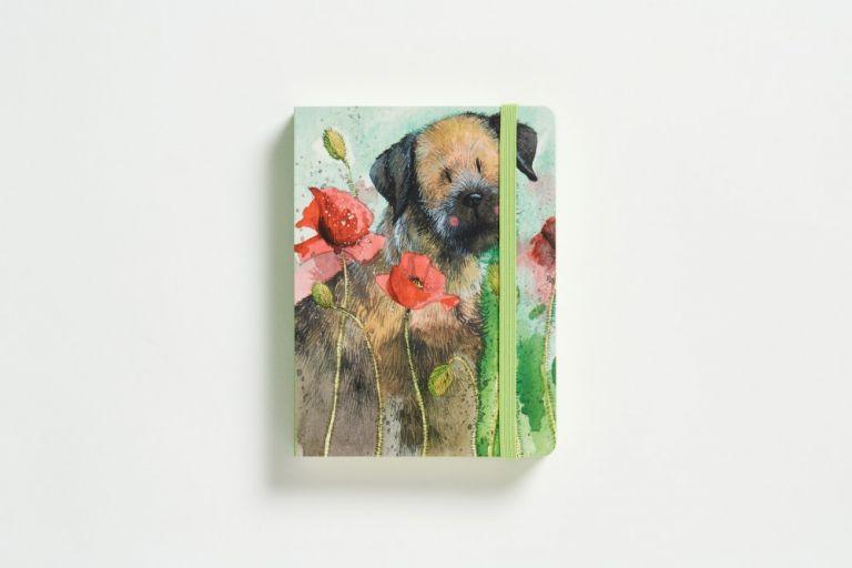 Notebook border terrier