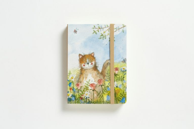 Notebook meadow cat