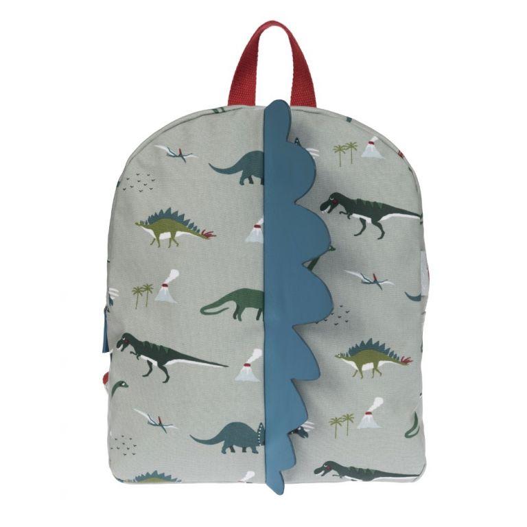 Sophie Allport dinosaurs oilcloth backpack