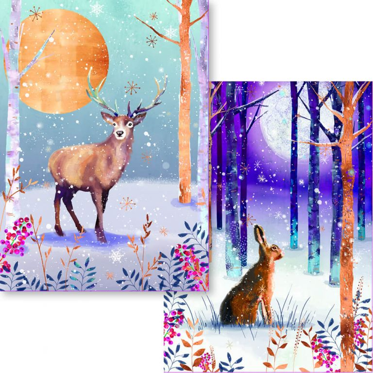 Stag and Hare