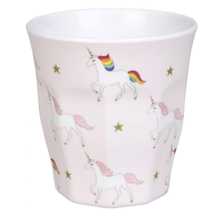 Sophie Allport unicorn children's melamine beaker
